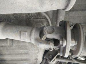 Установка кардана