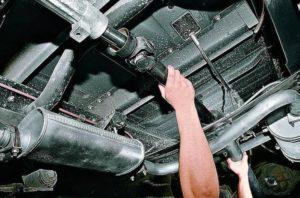 Замена карданного вала