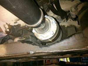 Ремонт переднего кардана